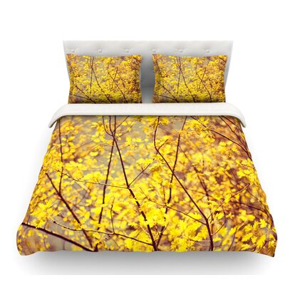 Autumn by Ingrid Beddoes Featherweight Duvet Cover Size: King