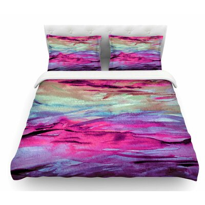 Unanchored 4 by Ebi Emporium Featherweight Duvet Cover Size: King