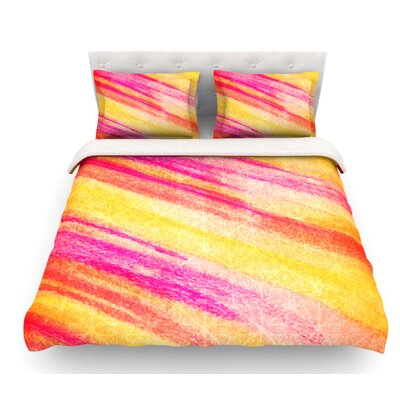 All That Jazz by Ebi Emporium Featherweight Duvet Cover Size: Twin
