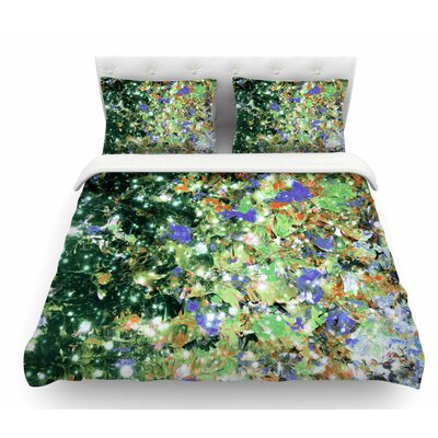 Into to the Night by Ebi Emporium Featherweight Duvet Cover Size: Twin