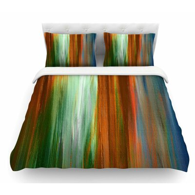 Irradiated 4 by Ebi Emporium Featherweight Duvet Cover Size: King
