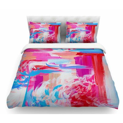 On the Move by Ebi Emporium Featherweight Duvet Cover Size: Twin