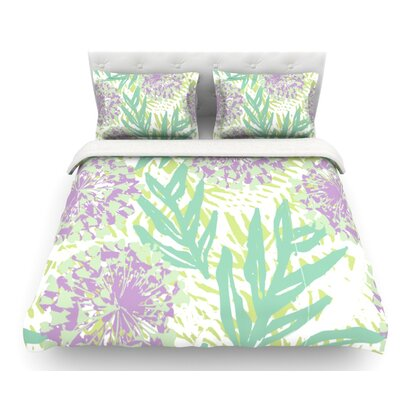 Varen by Chickaprint Featherweight Duvet Cover Size: Queen, Fabric: Cotton