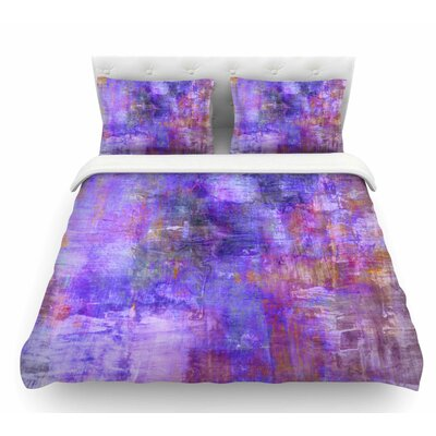 Fog by Ebi Emporium Featherweight Duvet Cover Size: Twin