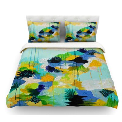 Journey to Paradise by Ebi Emporium Featherweight Duvet Cover Size: Queen