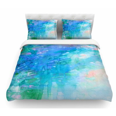 Childlike Wonder by Ebi Emporium Pastel Featherweight Duvet Cover Size: King