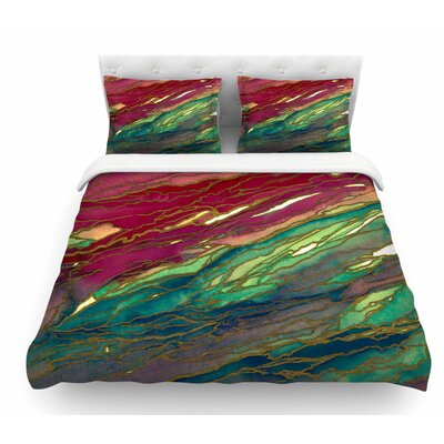 Agate Magic by Ebi Emporium Featherweight Duvet Cover Size: Twin