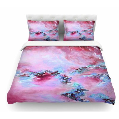 Sea to Sky 3 by Ebi Emporium Abstract Featherweight Duvet Cover Size: Queen