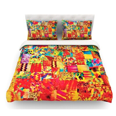 Painting the Soul by Ebi Emporium Featherweight Duvet Cover Size: Queen