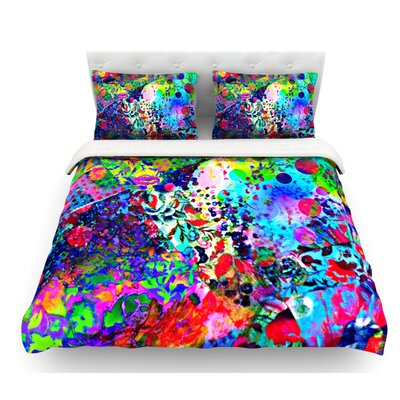 Jungle Fever by Ebi Emporium Featherweight Duvet Cover Size: Twin