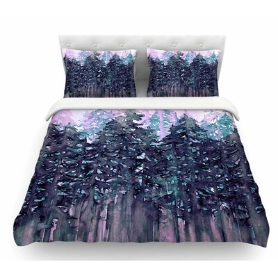 Northwest Vibes 5 by Ebi Emporium Featherweight Duvet Cover Size: King