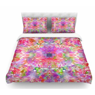 Jewel in the Crown by Ebi Emporium Featherweight Duvet Cover Size: Queen