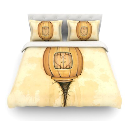 Her by Matthew Reid Featherweight Duvet Cover Size: Twin