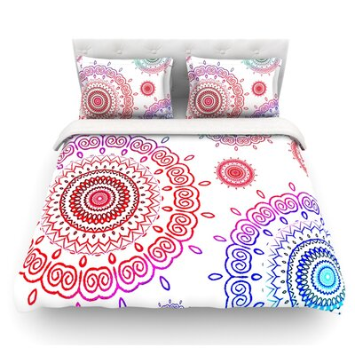 Infinity by Monika Strigel Featherweight Duvet Cover Size: Queen