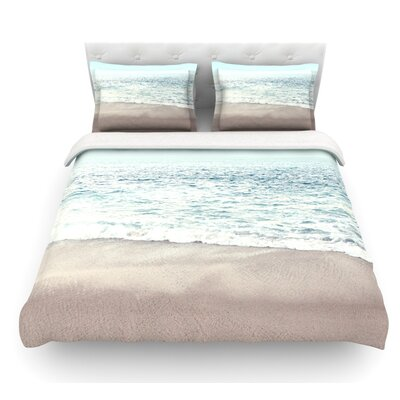 The Sea by Monika Strigel Coastal Featherweight Duvet Cover Size: Queen