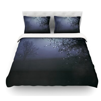 Song of the Nightbird by Monika Strigel Featherweight Duvet Cover Size: Queen