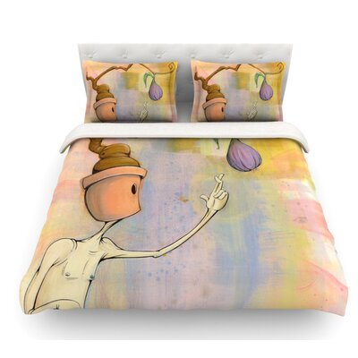 Fruit by Matthew Reid Featherweight Duvet Cover Size: Queen