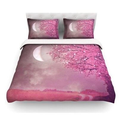 Song of the Springbird by Monika Strigel Featherweight Duvet Cover Size: Queen