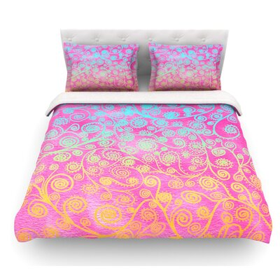 Get Lucky by Monika Strigel Featherweight Duvet Cover Size: Queen
