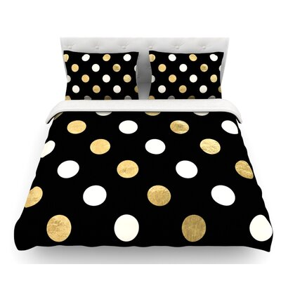 Dots  Featherweight Duvet Cover Size: King