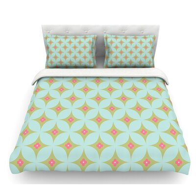 Retro  Featherweight Duvet Cover Size: Twin