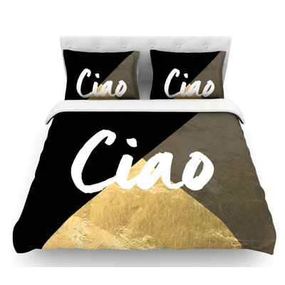 Ciao  Featherweight Duvet Cover Size: King