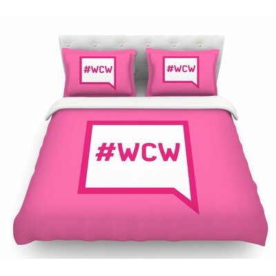 Women Crush Wednesday  Featherweight Duvet Cover Size: Queen