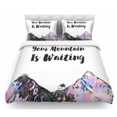 Your Mountain is Waiting  Featherweight Duvet Cover Size: King