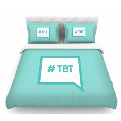 Throw Back Thursday  Featherweight Duvet Cover Size: Twin