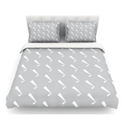 Check You Out  Featherweight Duvet Cover Size: King