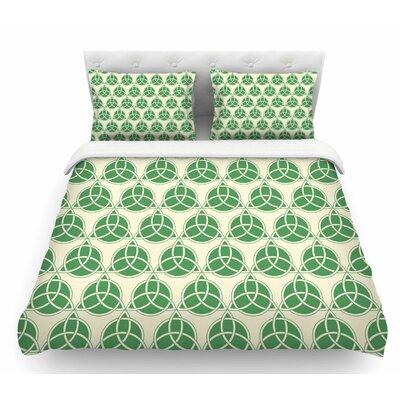 Celtic  Featherweight Duvet Cover Size: Twin