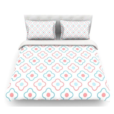Baby Moroccan  Featherweight Duvet Cover Size: Queen