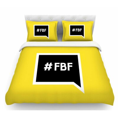Flash Back Friday  Featherweight Duvet Cover Size: King
