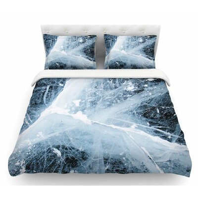 Deep Winter  Featherweight Duvet Cover Size: King