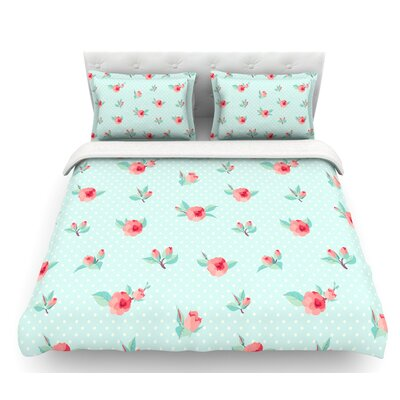 Happy Easter II  Springtime Featherweight Duvet Cover Size: King