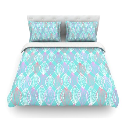 My Leaves by Julia Grifol Featherweight Duvet Cover Size: King