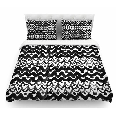 Finger Scales by MaJoBV Featherweight Duvet Cover Size: Twin