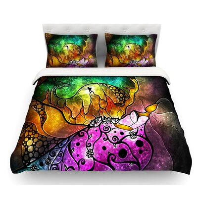 Sleeping Beauty by Mandie Manzano Fairy Tale Featherweight Duvet Cover Size: Queen, Fabric: Woven Polyester