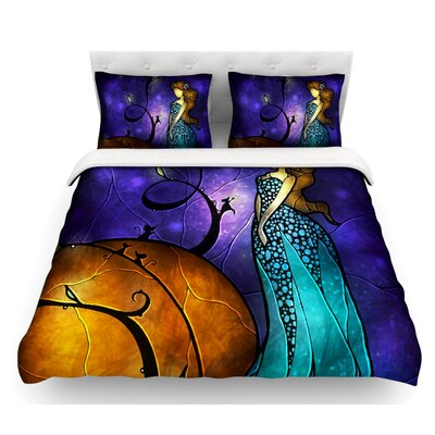 Cinderella by Mandie Manzano Featherweight Duvet Cover Size: Full/Queen, Fabric: Woven Polyester