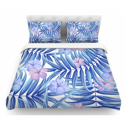 Hawaiian by Marta Olga Klara Featherweight Duvet Cover Size: Twin