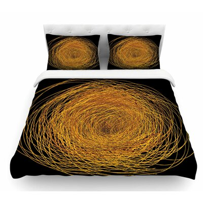 Hay by Maria Bazarova Featherweight Duvet Cover Size: King