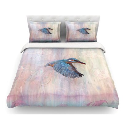 Terror from Above by Mat Miller Featherweight Duvet Cover Size: King, Fabric: Lightweight Polyester
