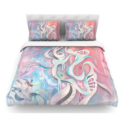 Tempest by Mat Miller Featherweight Duvet Cover Size: Twin