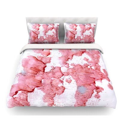Soft Splashes by Iris Lehnhardt Featherweight Duvet Cover Size: Queen