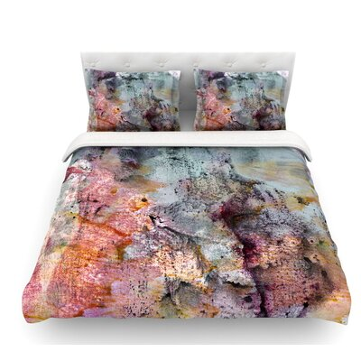 Floating Colors by Iris Lehnhardt Featherweight Duvet Cover Size: Twin