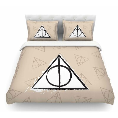 Hollows by Jackie Rose Featherweight Duvet Cover Size: King
