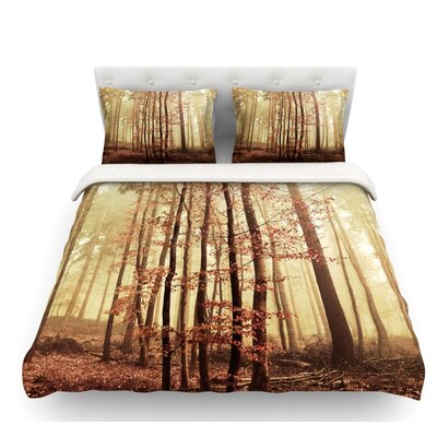 Autumn Again by Iris Lehnhardt Featherweight Duvet Cover Size: Queen