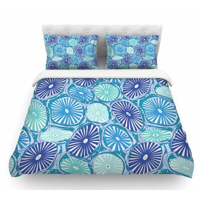 Sea by Jacqueline Milton Featherweight Duvet Cover Size: King