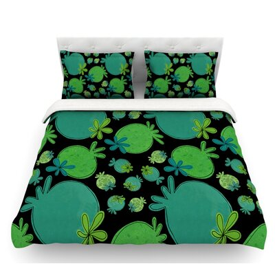 Garden Pods by Jane Smith Featherweight Duvet Cover Size: Twin