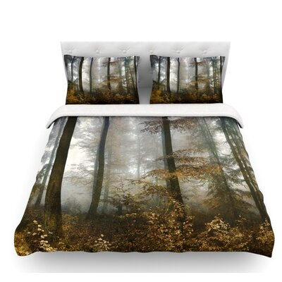 Forest Mystics by Iris Lehnhardt Featherweight Duvet Cover Size: Twin